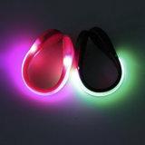 Luz corriente del clip del zapato del deporte LED de la seguridad de la noche brillante estupenda