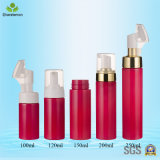200ml Cosmetic Lotion Pet Plastic Bottles avec distributeur de pompe