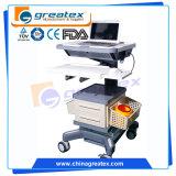 Trolley da estação de trabalho médica móvel do hospital para laptop 15 '' 17 '' (GT-WT01)