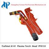 Cabeça da tocha Trafimet A141 PF0155 Tocha de solda por tocha de plasma de ar