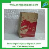 Sac cosmétique de nourriture personnalisé par mode en gros de sac à provisions de sac de sac de papier d'emballage