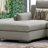 Sofá secional do projeto moderno com tela de imitação da alta qualidade do algodão para a sala de visitas Furniture-G7602