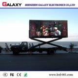 Visualización de LED con eficacia a todo color del coche/de los carros/el panel de P6/P8/P10 para la publicidad móvil