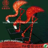 IP65 PVC LED Flamingo Modeling Motif Light pour Décoration de Noël