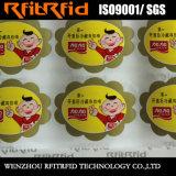 Etiquetas engomadas de papel adhesivas del producto químico de la impresión de la etiqueta autoadhesiva de la venta caliente