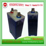 Tipo Pocket bateria recarregável de Hengming 1.2V90ah Kpm90 da série de Kpm da bateria de cádmio niquelar (bateria Ni-CD)