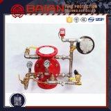 Divers types fournisseurs soupape de signal d'incendie pour le type humide etc. de système de lutte contre l'incendie