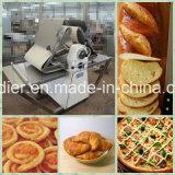 Het Regelbare Deeg Sheeter van de Dikte van de Apparatuur van de bakkerij voor Croissant