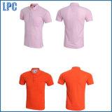Grand nombre de chemise de polo bon marché de publicité promotionnelle faite sur commande