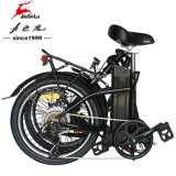 """前部20 """"またはセリウム(JSL039W-14)が付いている後部LEDの軽い電気折るバイク"""
