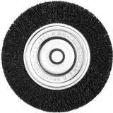 Roue de fil d'acier de disque pour le polonais de machine