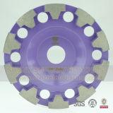 Абразивный диск диаманта 4 дюймов истирательный для конкретного пола