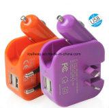 De multi Lader van de Adapter USB van de Muur van de Lader van de Auto van de Functie