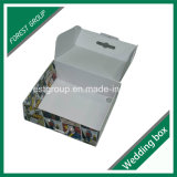 주문품 플루트 마분지 호화스러운 의류 포장 상자 (FP0200072)
