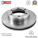 Disque de frein de pièces d'auto de marché des accessoires pour Mercedes-Benz