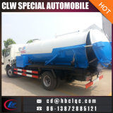Dongfeng 6000L Abwasserkanal-ausbaggerndes Reinigungs-Fahrzeug-Kombinations-ausbaggerndes Fahrzeug
