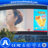 스크린 옥외 풀 컬러 발광 다이오드 표시를 광고하는 고해상 P8