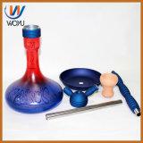 Único cachimbo de água do frasco de vidro de Shisha Tabacco da tubulação