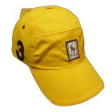Casquette de baseball jaune de logo de Cbf (JRE113)