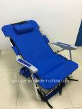 Silla de playa, silla de plegamiento, silla al aire libre, silla que acampa