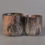 Ceramische Verf van de Kop van de Kaars van de Container van de Kaars van de luxe de In het groot