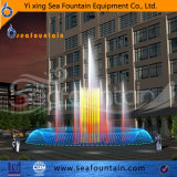 Деревянный фонтан нот бассеина воды пакета