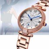 형식 수정같은 선물 석영 손목 시계 여자 보석 시계 71041