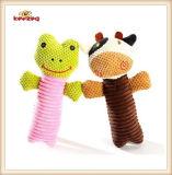 Patrón de marionetas de felpa y rellenas mascotas de juguete chillón para el perro