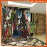 2017 최신 신성한 어머니 마리아 및 예수 유럽 디자인 유화를 가진 로마 교황 판매