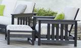 Le sofa sectionnel de balcon des Etats-Unis de meubles de Polywood de patio extérieur traditionnel de jardin a placé (1+2+3)