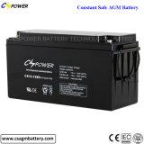 Batterie solaire 12V150ah du cycle profond AGM pour le vent et solaire