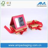 Empaquetado coloreado de encargo del lustre del labio del pequeño rectángulo del rectángulo del papel revestido nuevo