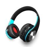 Preiswerter drahtloser Musik-Kopfhörer, Bluetooth Stereokopfhörer, Sport-Kopfhörer mit Radiospieler MP3-FM