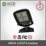 130lm/W luz del área del estacionamiento de la UL Dlc IP65 150W~300W LED