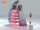 Estante de visualización de papel de la cartulina del soporte de visualización de suelo para la venta al por menor