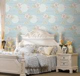 Papel de parede não tecido do preço barato bonito de China para o quarto