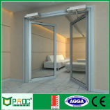 Qualitäts-Aluminiumglasflügelfenster-Tür mit As2047