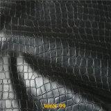 Cuoio di pattino artificiale dell'unità di elaborazione di alta qualità per i sandali 2017 del `S della signora