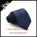Cravate bon marché de Mens tissée par jacquard poly