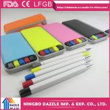 تصميم جديدة متعدّد وظيفيّة جيّدة زرقاء [هيغليغتر] قلم