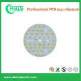 PCB de base de alumínio de camada única para LED