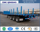Cimc 40ton 40FT 3 Wellen-Behälter-Plattform-halb Schlussteil