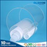 Olsoon 투명한 아크릴 관 아크릴 기포관 플라스틱 관 백색 색깔 아크릴 관