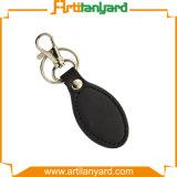 주문을 받아서 만들어진 고품질 가죽 Keychain