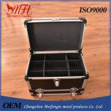 Il nero di alluminio chiudibile a chiave su ordinazione di caso