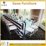 Présidence transparente de banquet de Chiavari d'hôtel, présidence claire de Chiavari de résine