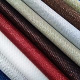 Heiß-Verkauf Funkeln PU-synthetisches Leder für Schuhe oder Beutel (HS-M024)