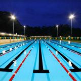 Linha plástica durável da pista do flutuador da piscina do FL com gancho