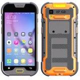 5 duim 4G Lte Ruwe IP68 Waterdichte Smartphone met de Camera van het Geheugen 2+16GB & van PARLEMENTSLID 5+13 & ultra Lichte LEIDENE Toorts