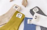 Nette kleines Mädchen-Baumwolle trifft Kind-Socken mit beschriftetem Tierfirmenzeichen hart
